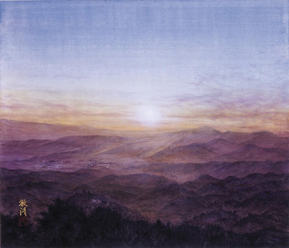 2006年6月8日から開催の「—淨— 塚本 敏清 日本画展」の画像2