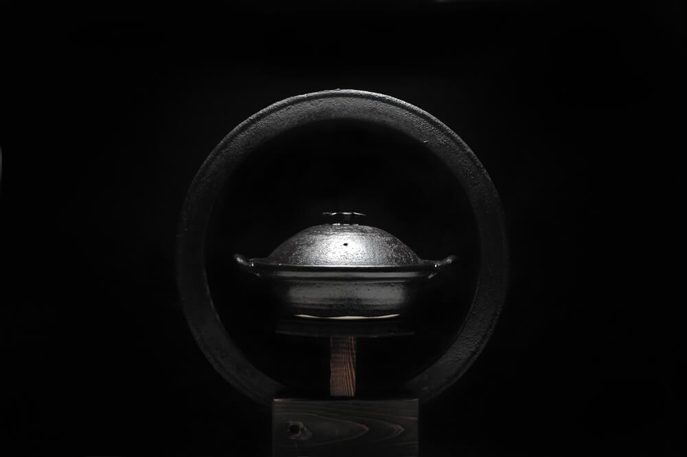 2006年10月12日から開催の「—伊賀の里— 大道正男の土鍋展」のDM画像