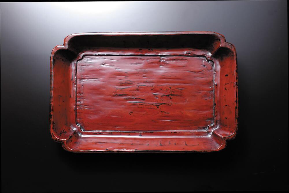 2006年11月16日から開催の「大蔵 達雄 木漆芸展」の作品1