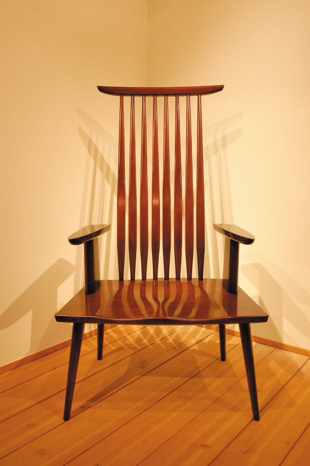 2007年5月3日から開催の「窪田 謙二 木工展」の作品01