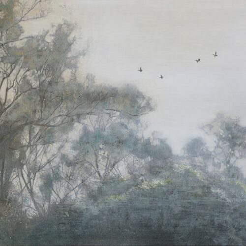 2007年11月8日から開催の「—光彩を紡ぐ— 日本画 芝 康弘 展」のサムネイル画像