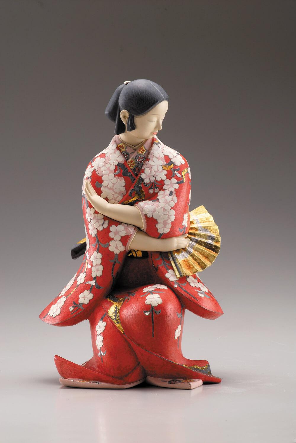 2008年2月14日から開催の「芹川 英子 と ゆかりの作家たち 展」の作品05