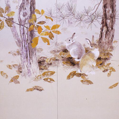 2008年10月9日から開催の「身近な小動物たち 日本画 加藤 厚 展」のサムネイル画像