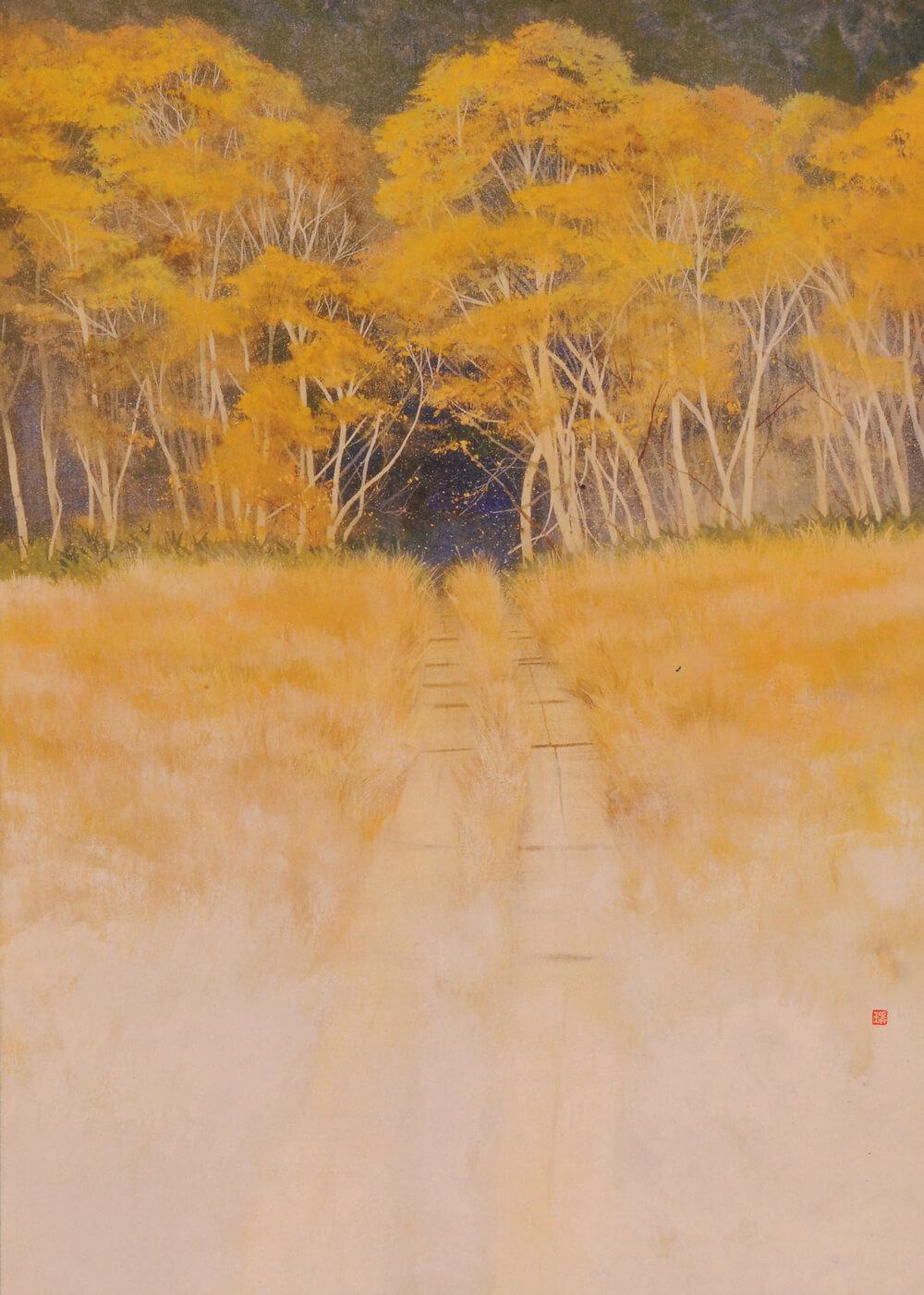 2009年1月10日から開催の「使命 日本画 牧野 環 展」の画像
