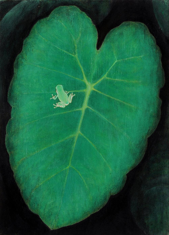 2013年1月11日から開催の「癸巳 橘 泰司 日本画 展」の橘 泰司の作品01