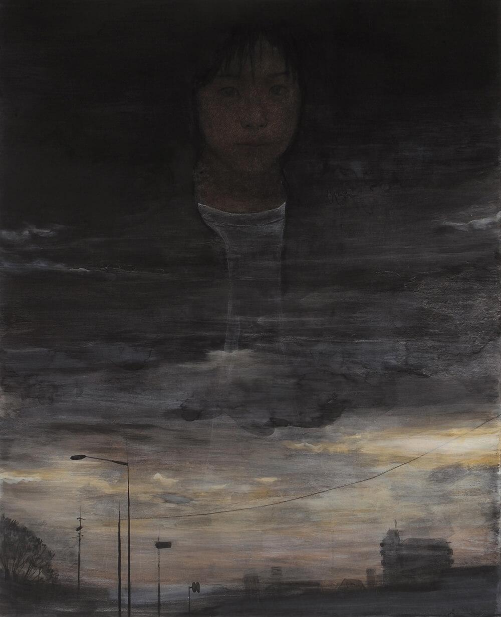 2013年1月11日から開催の「癸巳 橘 泰司 日本画 展」の橘 泰司の作品02