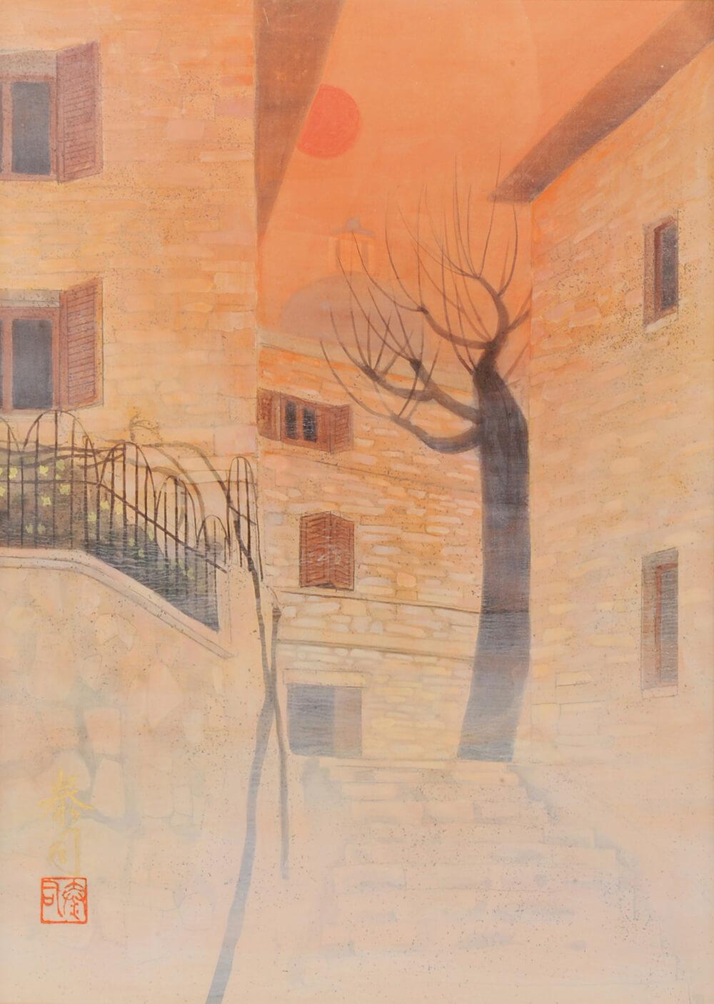 2013年1月11日から開催の「癸巳 橘 泰司 日本画 展」の橘 泰司の作品03