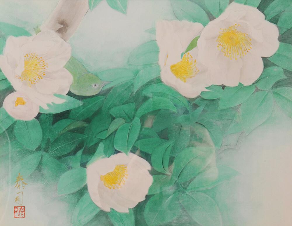 2013年1月11日から開催の「癸巳 橘 泰司 日本画 展」の橘 泰司の作品04