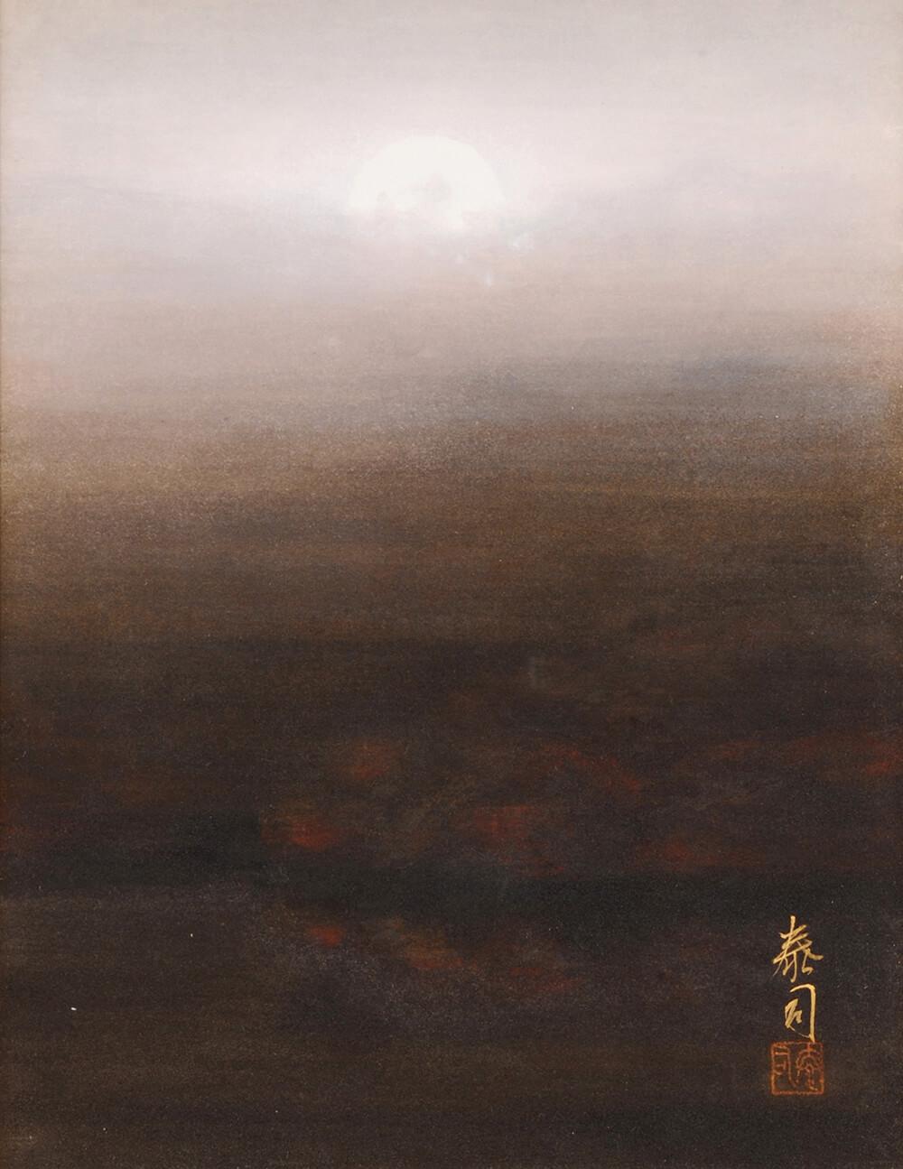 2013年1月11日から開催の「癸巳 橘 泰司 日本画 展」の橘 泰司の作品07
