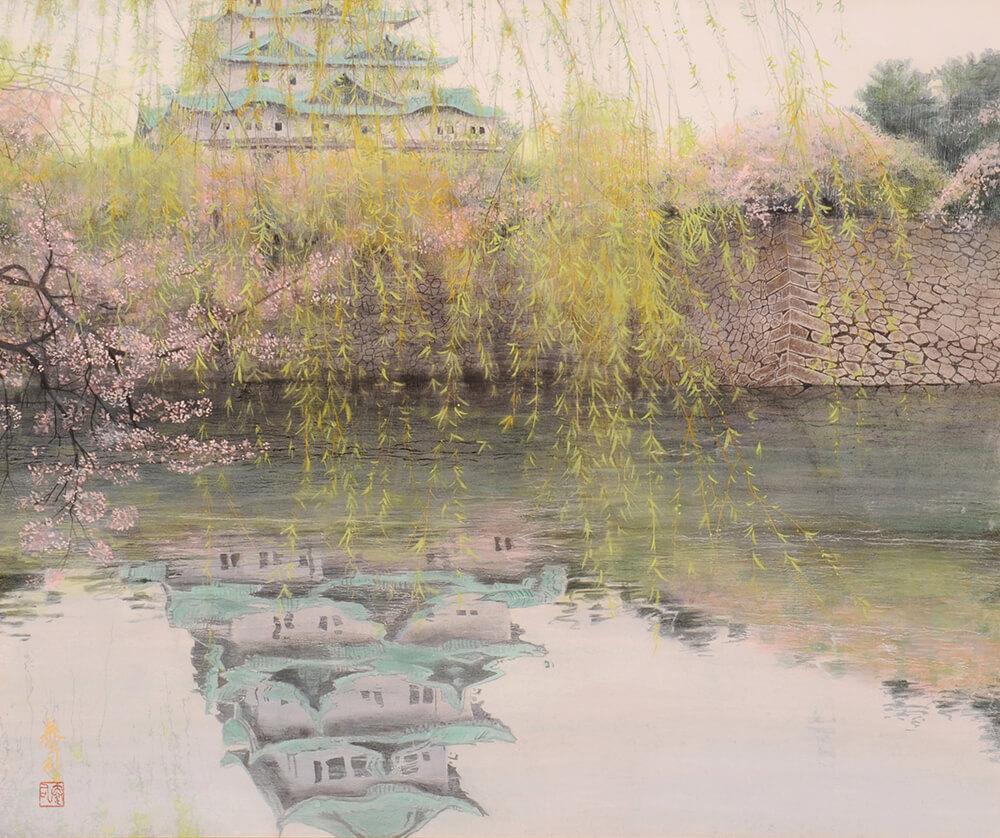 2013年1月11日から開催の「癸巳 橘 泰司 日本画 展」の橘 泰司の作品09