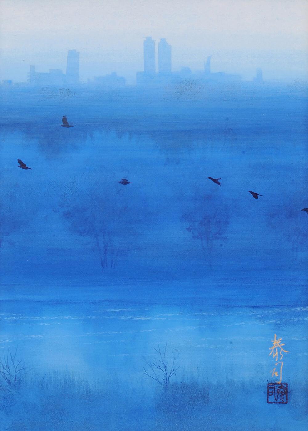 2013年1月11日から開催の「癸巳 橘 泰司 日本画 展」の橘 泰司の作品13