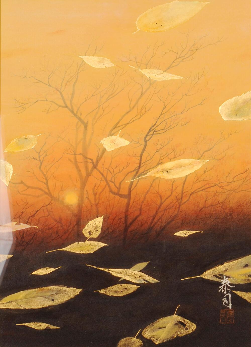 2013年1月11日から開催の「癸巳 橘 泰司 日本画 展」の橘 泰司の作品15
