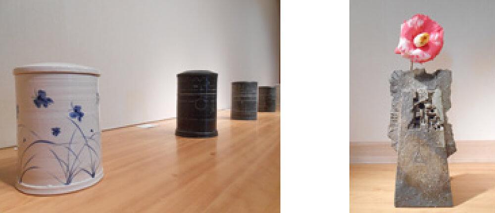 2014年4月19日から開催の「加藤 清之 陶展」の加藤 清之の展示作品01