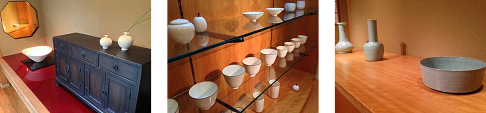 2014年9月13日から開催の「青瓷・白瓷 伊藤 秀人 陶展」の作品6