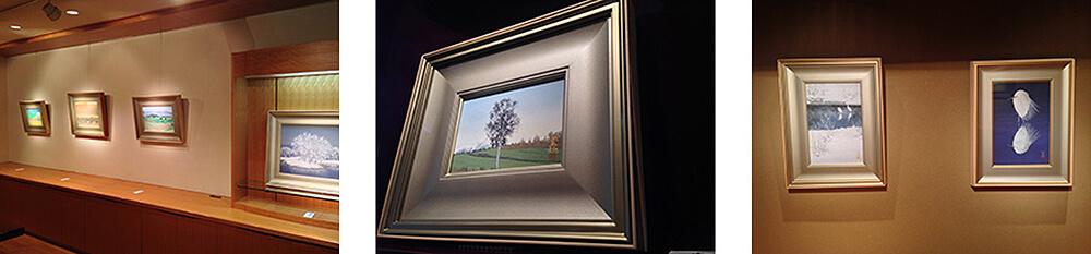 2014年10月4日から開催の「心にふれた情景 小川 国亜起 日本画展」の小川 国亜起の作品2