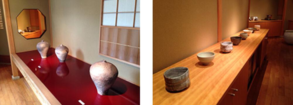 2015年7月4日から開催の「開廊18周年記念 内田 鋼一 展」の作品複数2