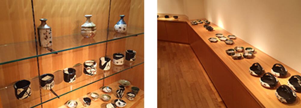 2015年9月12日から開催の「織部の息吹 寺田 鉄平 陶展」の作品写真2
