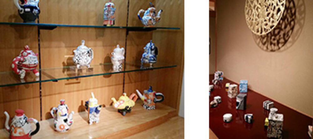 2015年10月17日から開催の「TSUKI… ラファエル・ナバス展」のラファエル・ナバスの作品展示02