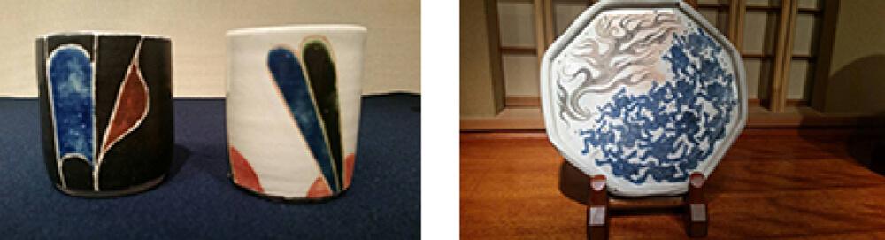 2015年12月5日から開催の「河本 五郎・加守田 章二 展」の河本 五郎・加守田 章二の作品展示02