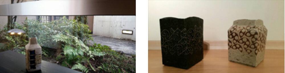 2016年2月6日から開催の「加守田 太郎 陶展」の加守田 太郎の作品展示01