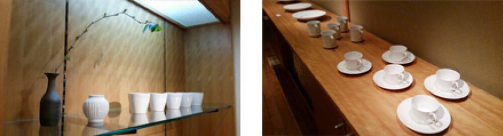2016年3月5日から開催の「加藤 巧 陶展」の加藤 巧の作品展示01