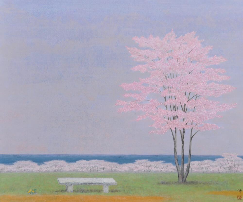 2016年3月19日から開催の「自然と共に 小林 済 日本画展」の小林 済の作品01