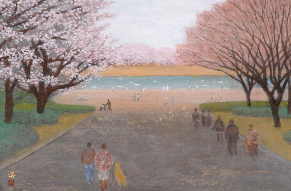 2016年3月19日から開催の「自然と共に 小林 済 日本画展」の小林 済の作品03