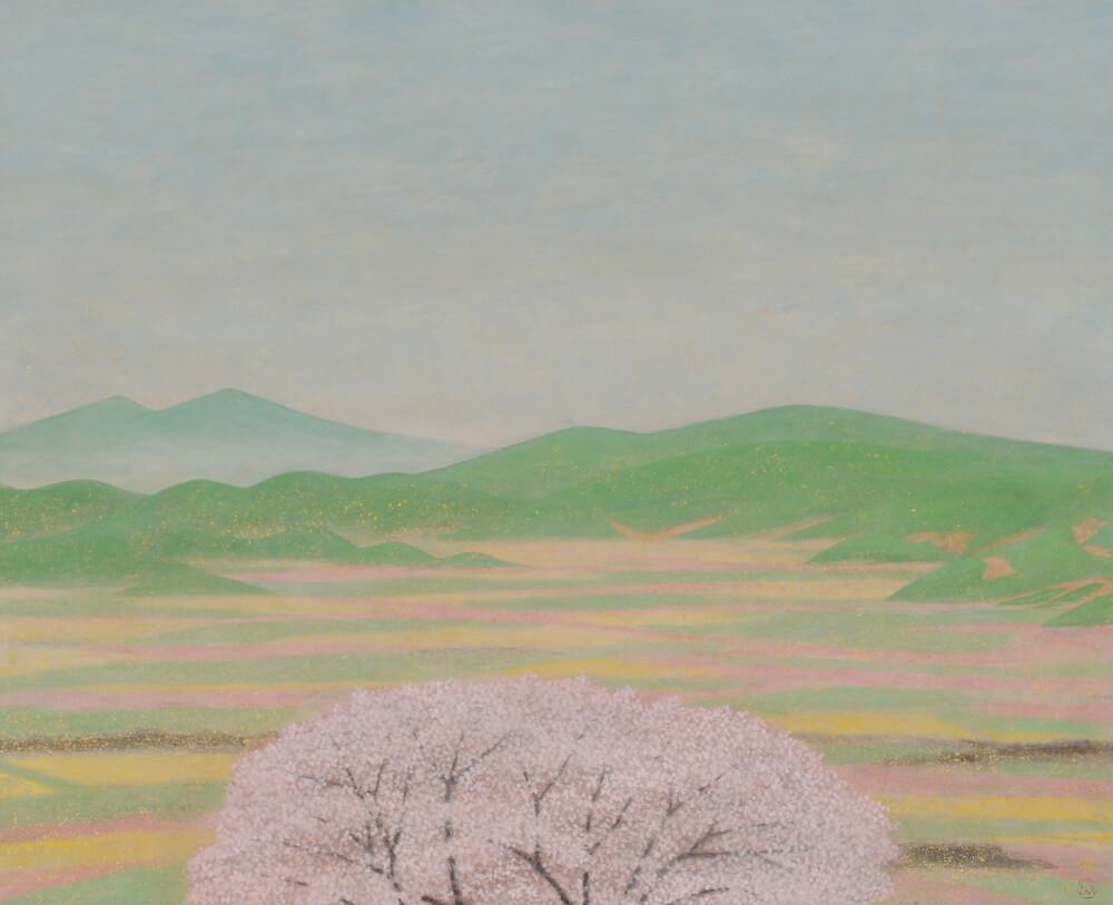 2016年3月19日から開催の「自然と共に 小林 済 日本画展」の小林 済の作品04