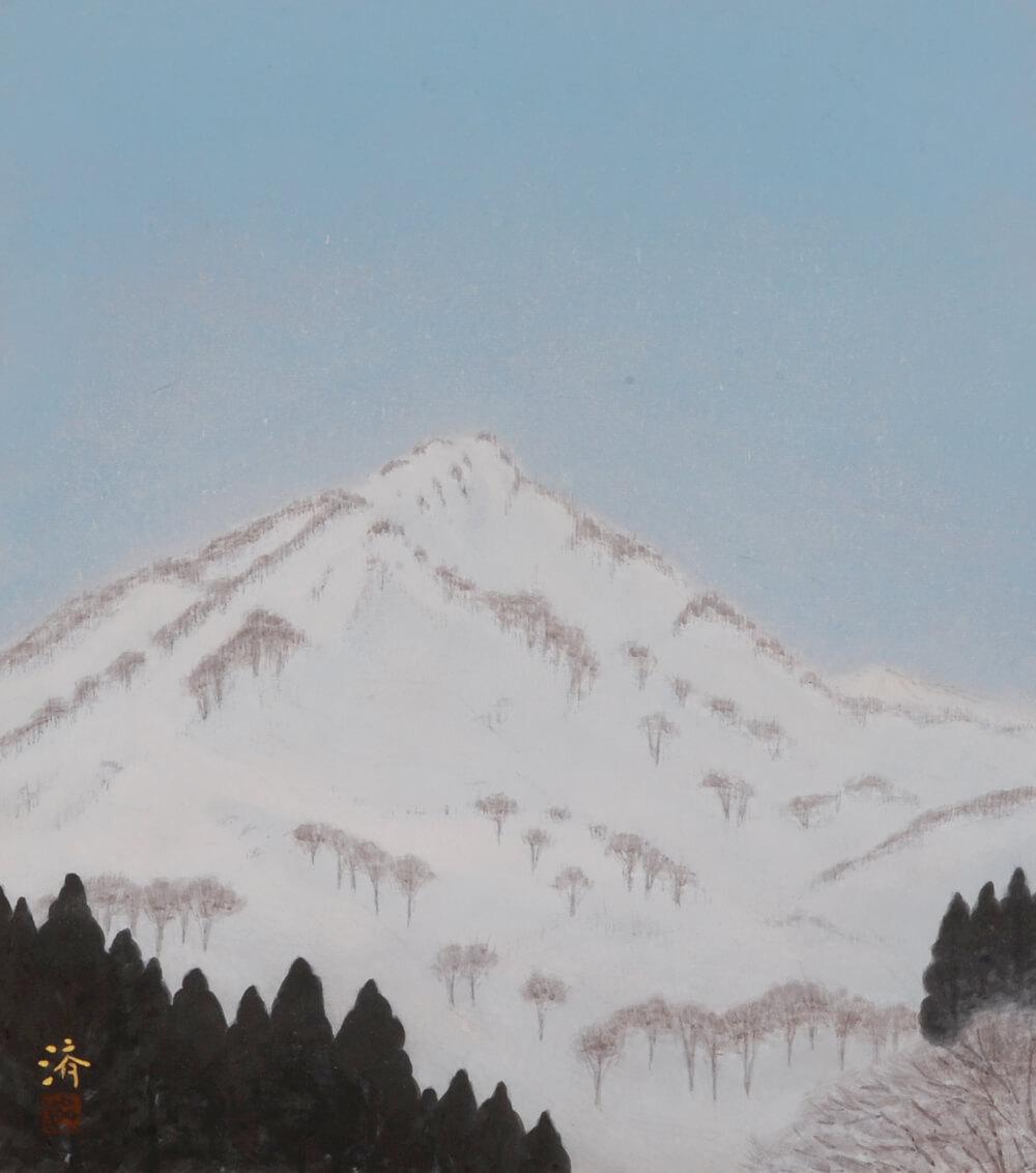2016年3月19日から開催の「自然と共に 小林 済 日本画展」の小林 済の作品08