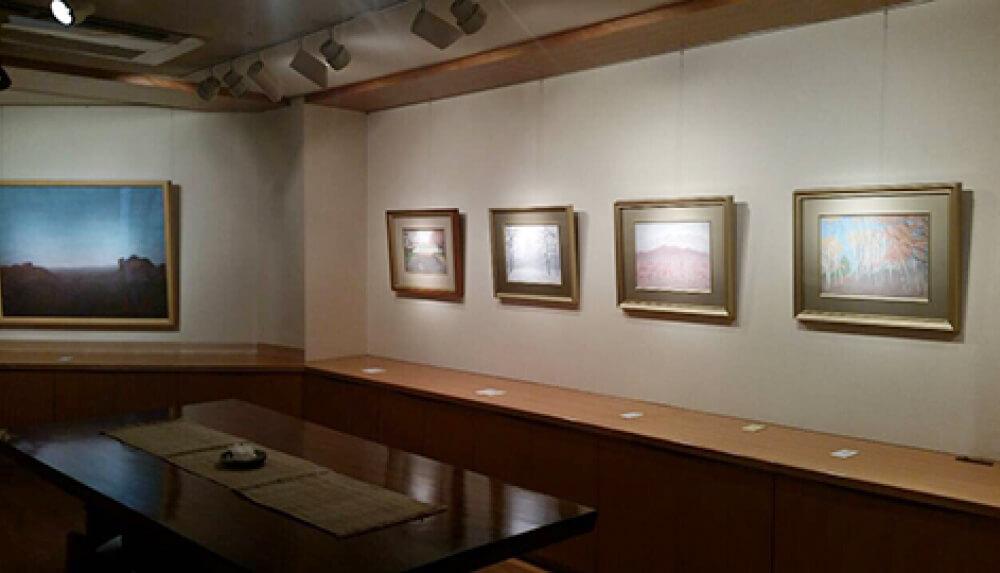 2016年3月19日から開催の「自然と共に 小林 済 日本画展」の小林 済の作品09