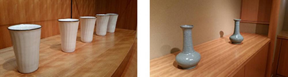 2016年5月14日から開催の「伊藤 秀人 陶展」の伊藤 秀人の作品展示1
