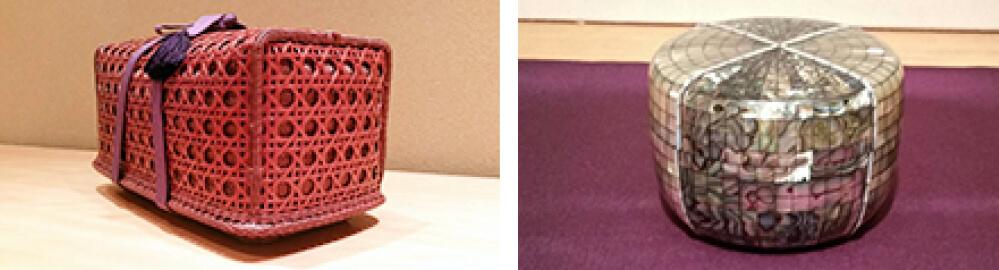 2016年8月27日から開催の「陶芸を中心に 工芸逸品展」の出典作品 会場の様子02