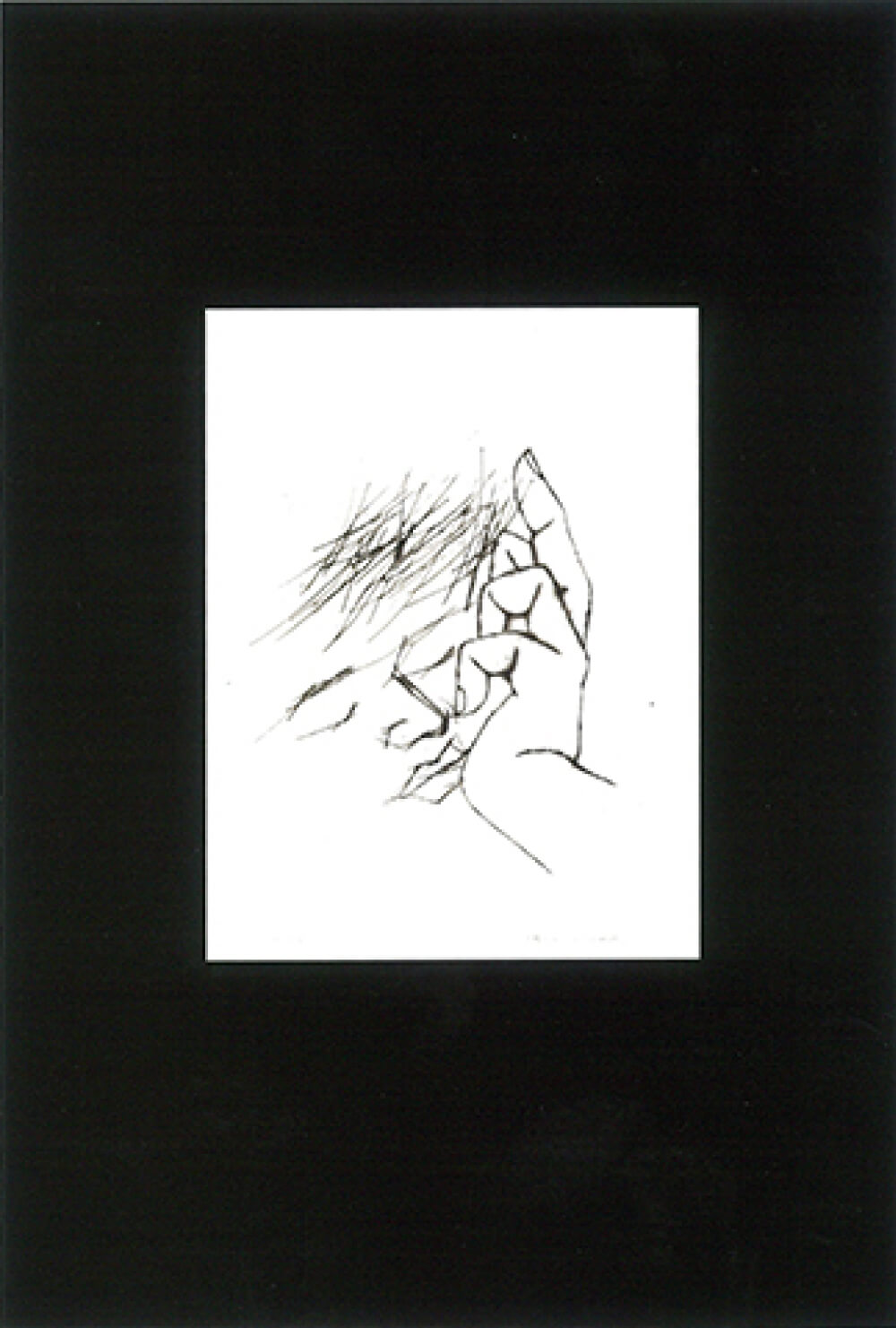 2016年9月24日から開催の「浅野 弥衛 抽象画展」の浅野 弥衛のDM