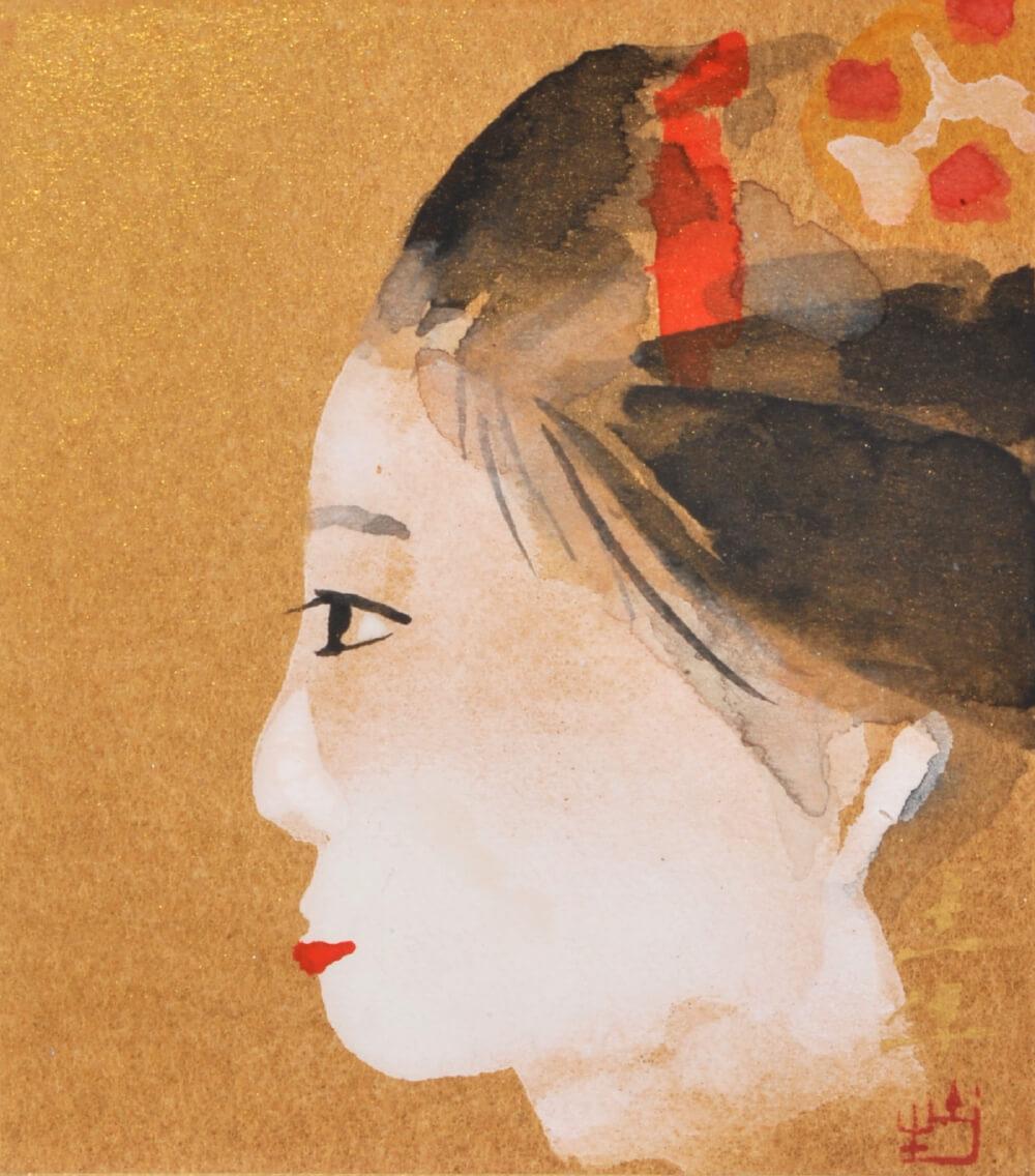 2016年10月29日から開催の「日本の画壇 巨人たち 展」の作品2