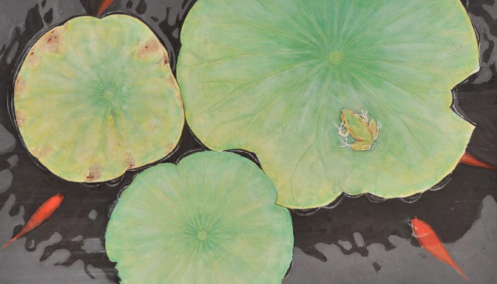 2017年1月14日から開催の「橘 泰司 日本画展」の橘 泰司の作品4