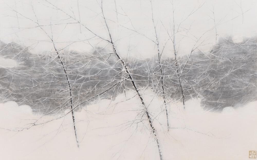 2017年1月14日から開催の「橘 泰司 日本画展」の橘 泰司の作品8