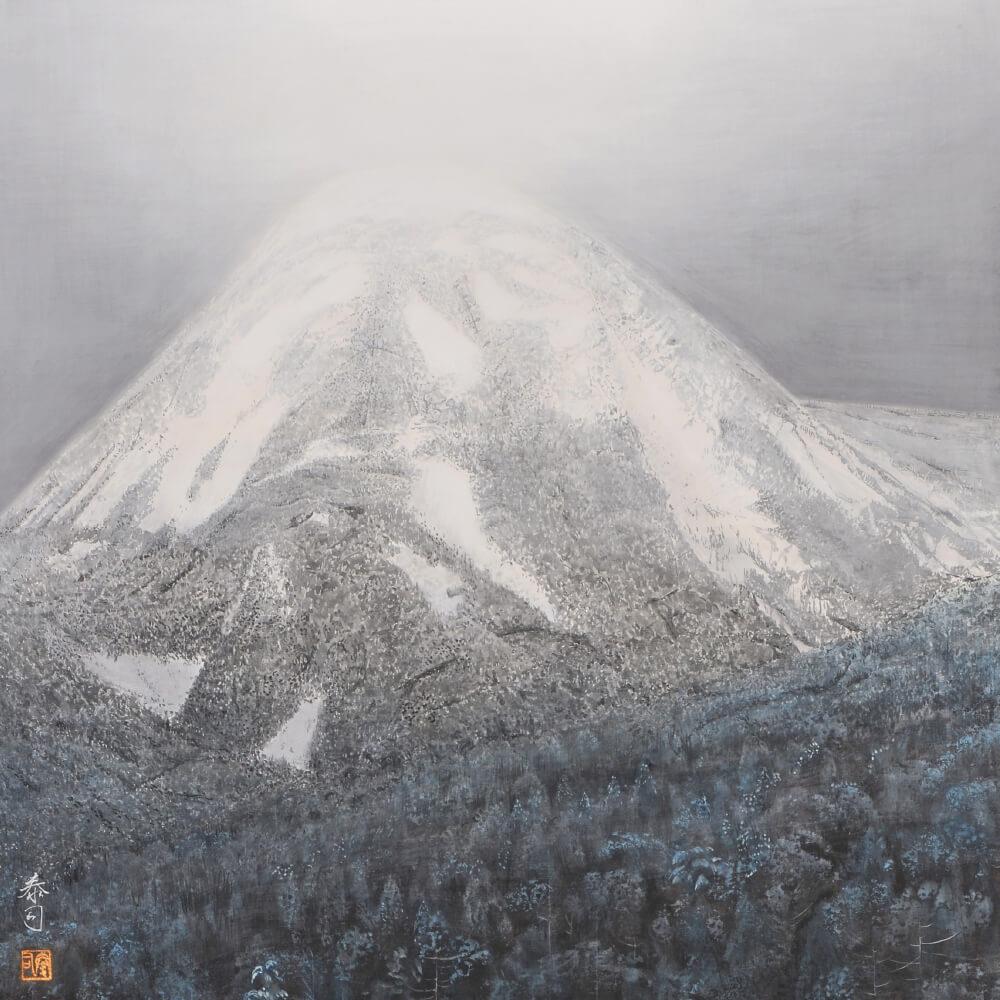2017年1月14日から開催の「橘 泰司 日本画展」の橘 泰司の作品9