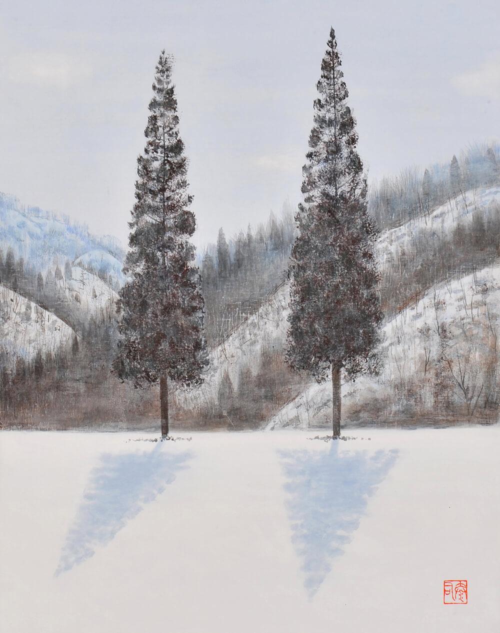 2017年1月14日から開催の「橘 泰司 日本画展」の橘 泰司の作品15