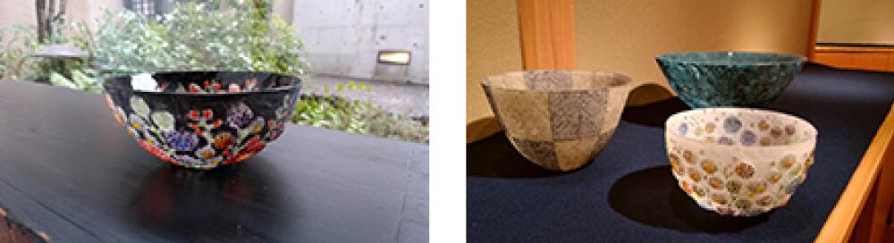 2017年3月4日から開催の「パート・ド・ヴェール 大室 桃生 GLASS 展」の大室 桃生の作品3