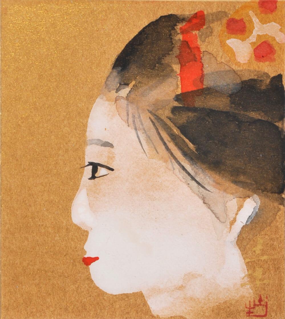 2017年4月15日から開催の「絵画・陶工芸展」の奥村 土牛の作品