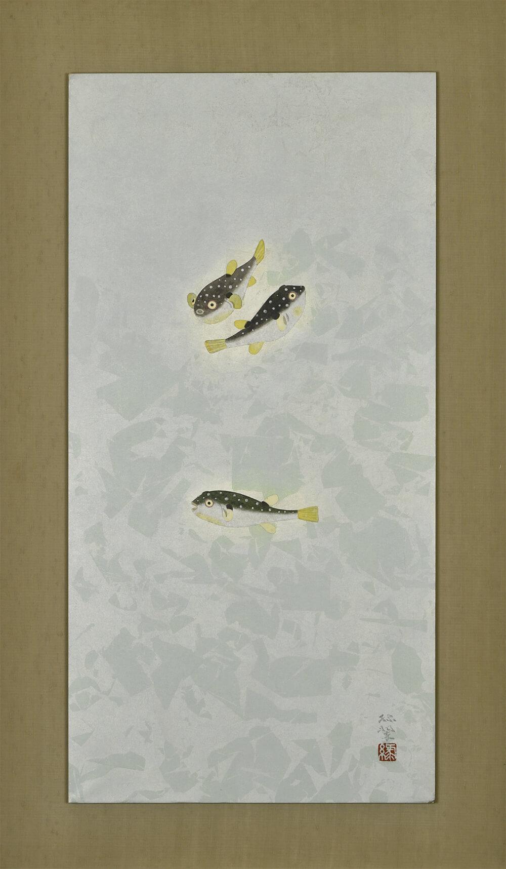 2018年2月10日から開催の「絵画・陶工芸 逸品展」の作品1