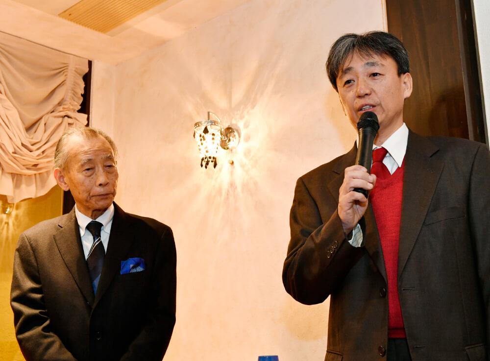 九代 長江 惣吉さん(右)