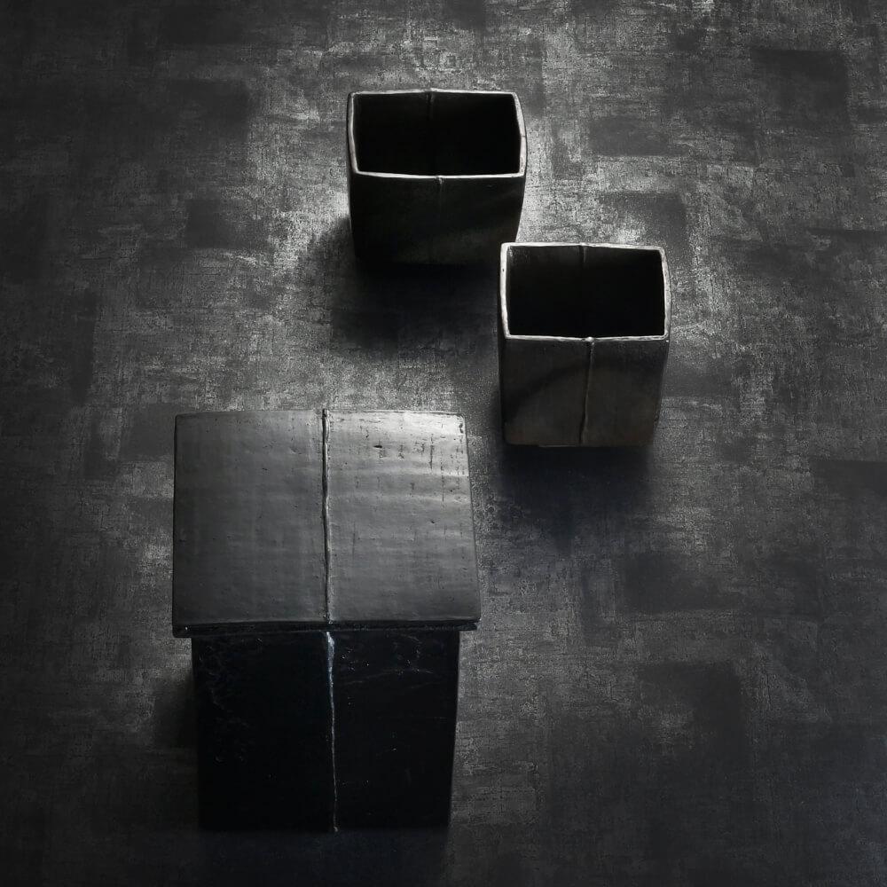2018年9月15日から開催の「黒陶祭器 髙山 大 陶展」の髙山 大の作品1