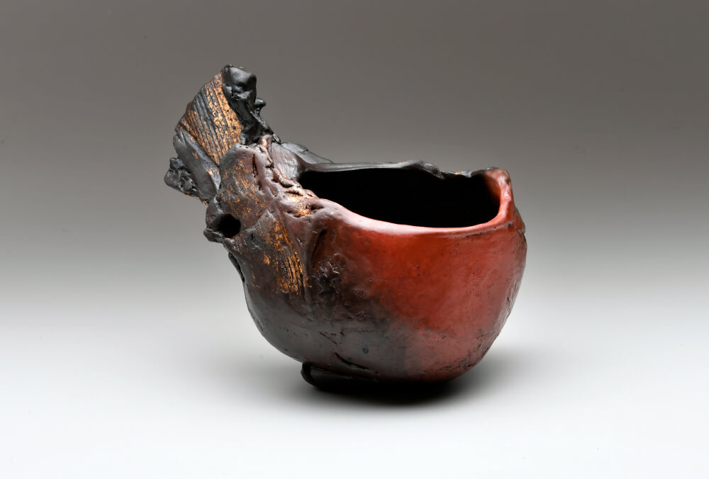 2018年9月15日から開催の「黒陶祭器 髙山 大 陶展」の髙山 大の作品2