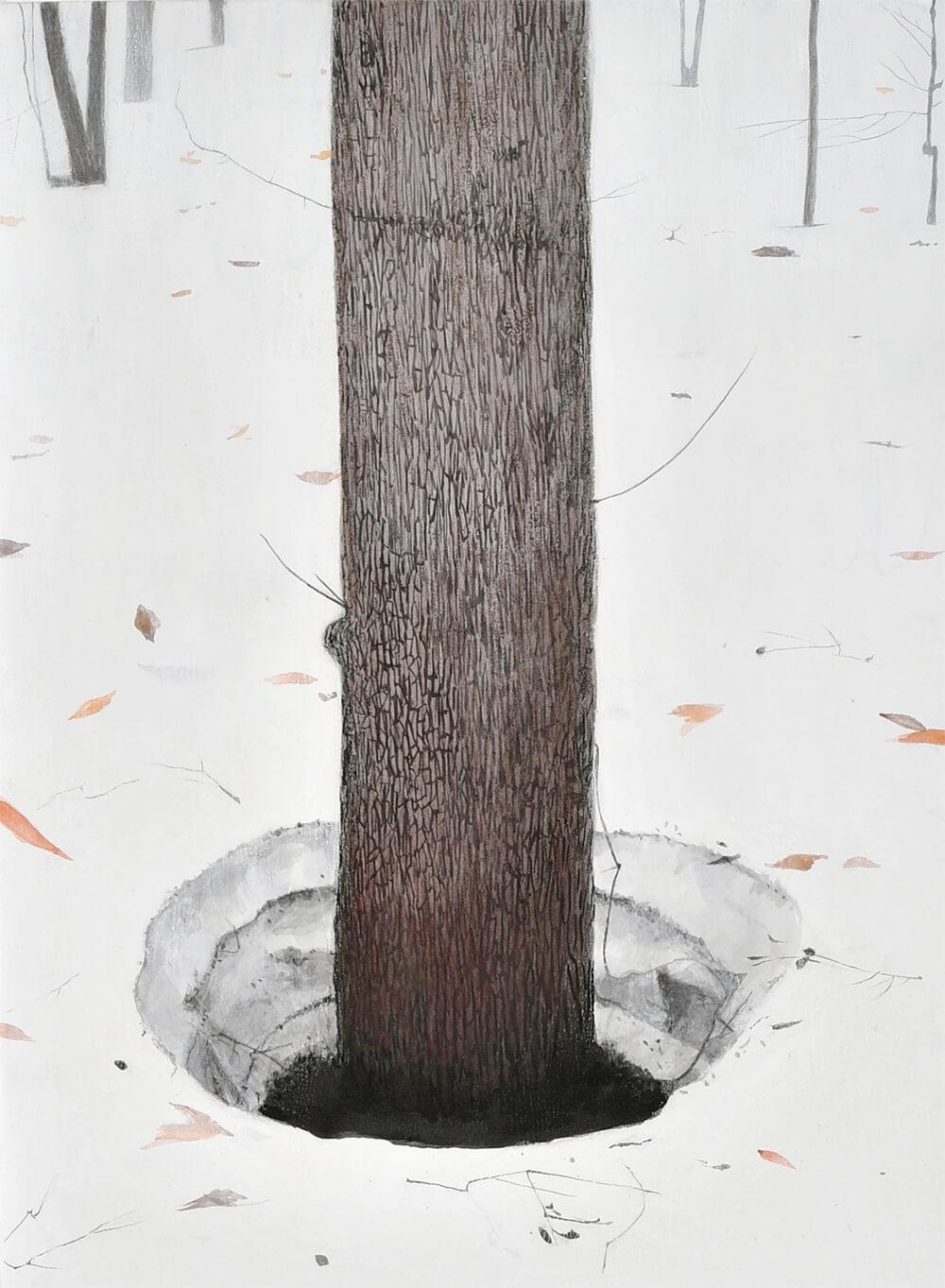 2018年10月27日から開催の「橘 泰司 日本画展」の橘 泰司の作品12