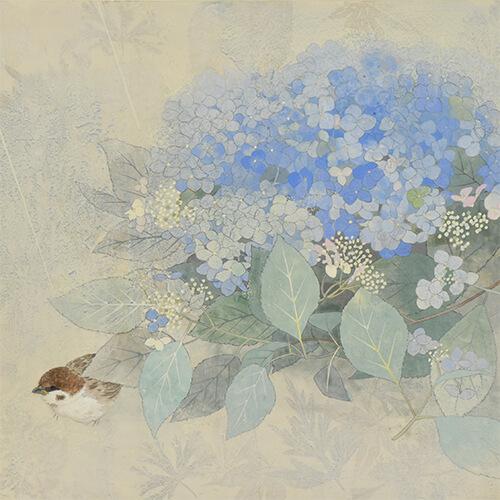 2019年6月15日から開催の「小さな風景 河本真里 日本画展」のサムネイル画像