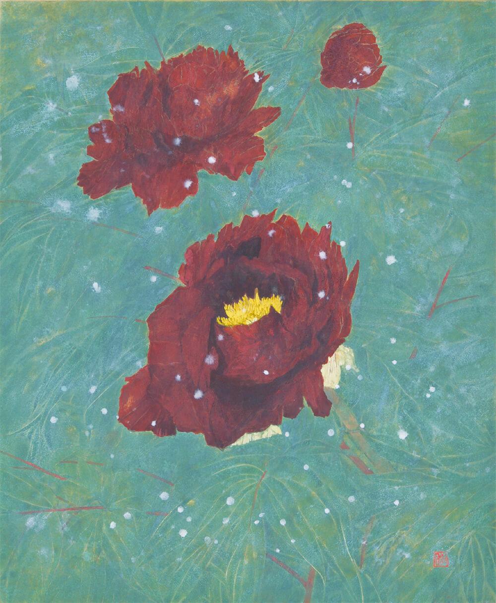 2020年1月17日から開催の「松井 和弘 日本画展」の作品