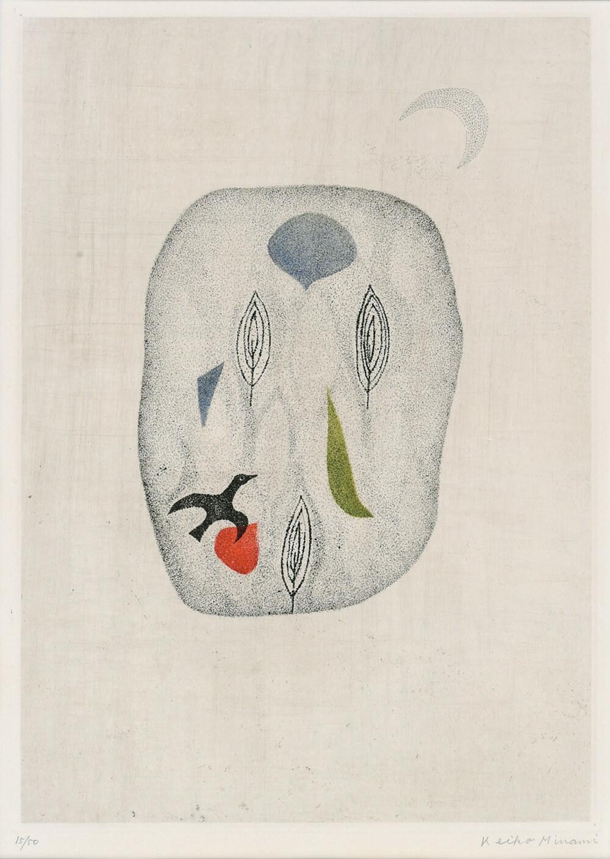 2020年2月14日から開催の「浜口 陽三 & 南 桂子 銅版画展」の南 桂子の作品