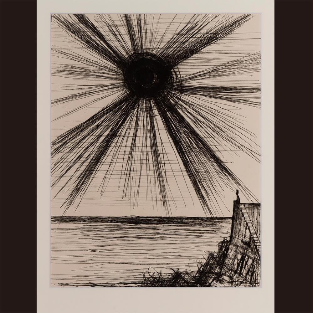 2021年1月15日から開催の「新春におくる版画芸術展」のビュフェの作品