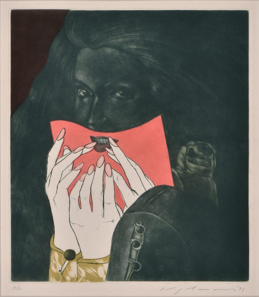 2021年3月19日から開催の「池田 満寿夫 版画展」の池田 満寿夫の作品1